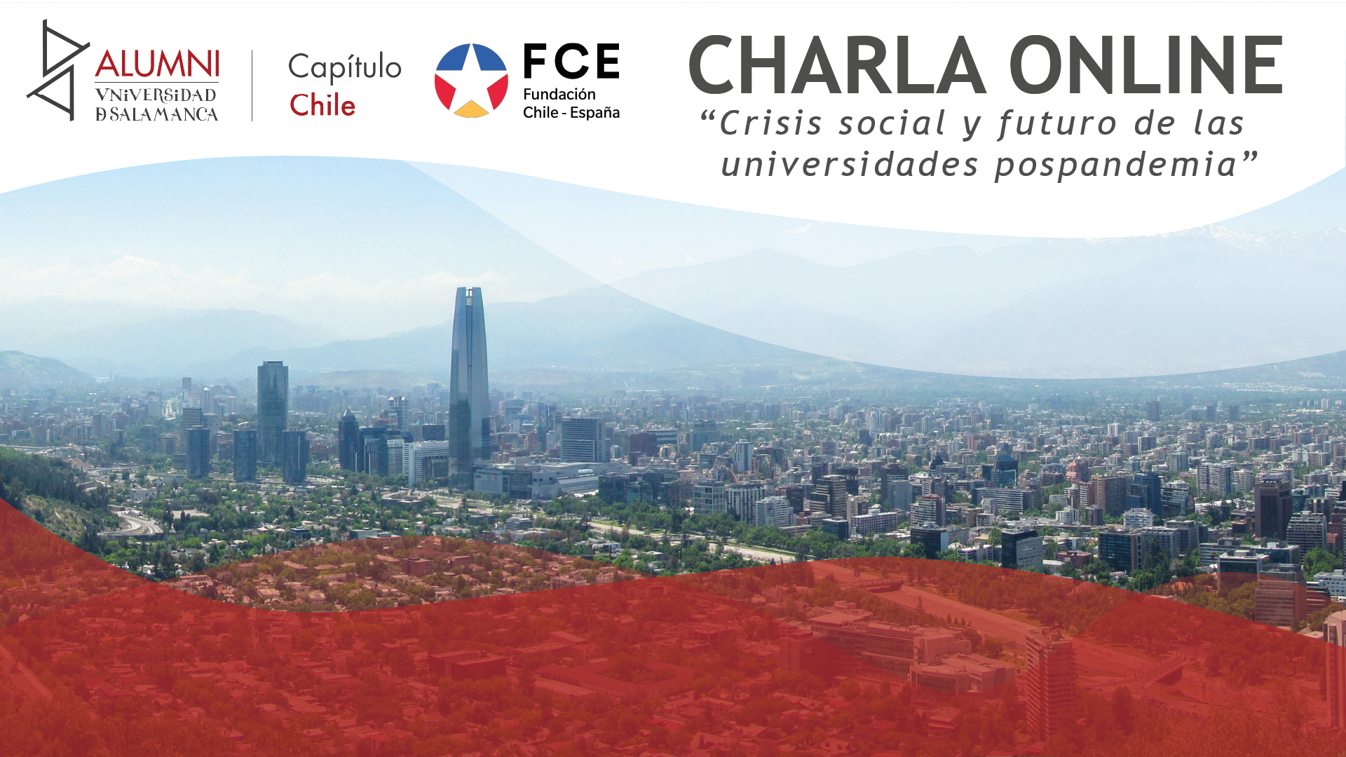 """Capítulo Chile: """"Crisis social y futuro de las universidades pospandemia"""""""