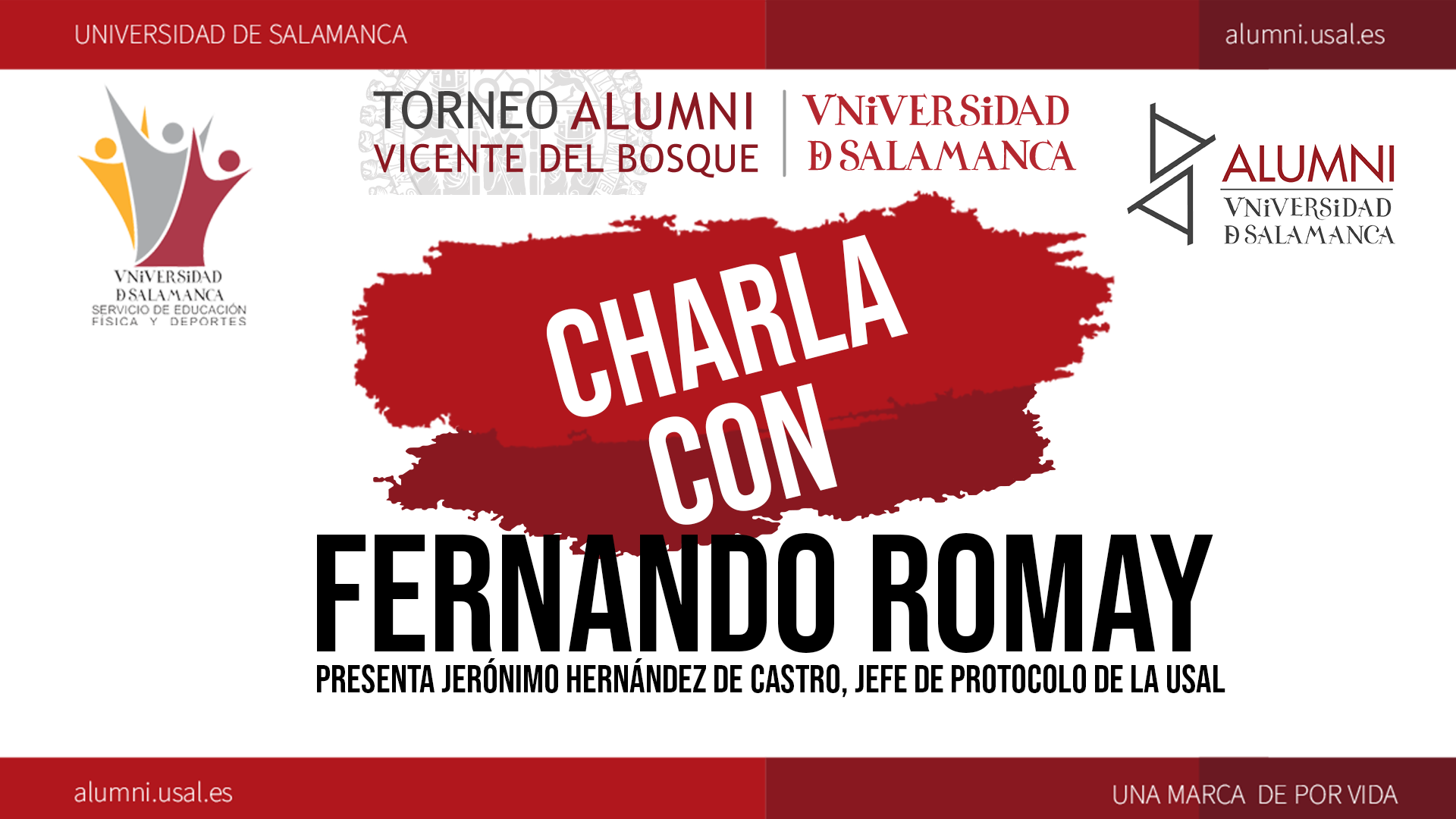 Charla con Fernando Romay