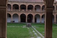 Arco del patio del Colegio Fonseca