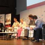 """Encuentro Anual Alumni - USAL en Madrid. Coloquio """"Todos somos vulnerables: la amenaza global a la ciberseguridad""""."""