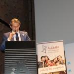 Encuentro Anual Alumni - USAL en Madrid. Intervención de Ignacio Domínguez coordinador del capítulo de Madrid.
