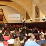 Román Álvarez en el acto académico del Encuentro de Plata