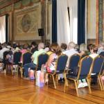 Recepción institucional durante los Encuentro de Titanio, Oro y Diamante