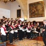 Actuación del Coro en el acto académico del Encuentro de Titanio, Oro y Diamante