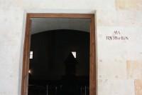 Entrada del Aula Fray Luis de León