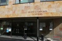 Fachada de la Facultad de Geog. e Historia
