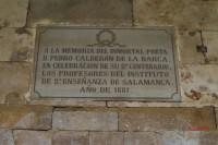 A la memoria de D. Pedro Calderón de la Barca