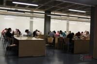 Interior de la Biblioteca Abraham Zacut, Universidad de Salamanca