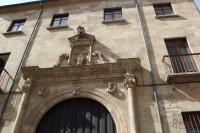 Fachada del aulario de San Isidro
