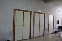 Interior del aulario de San Isidro