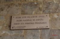 Placa, Palacio de Anaya