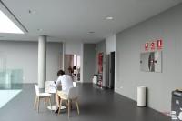 Interior del Edificio multiusos I+D+i de la Universidad de Salamanca