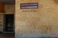 Biblioteca Francisco de Vitoria (Situada en el Campus Miguel de Unamuno), Universidad de Salamanca
