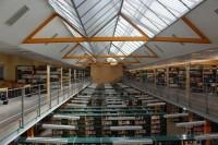 Interior de la Biblioteca Francisco de Vitoria (Situada en el Campus Miguel de Unamuno), Universidad de Salamanca