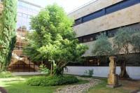 Patio interior de la Facultad de Filosofía, Ciencias Sociales y Economía y Empresa de la Universidad de Salamanca