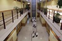 Interior de la Facultad de Filosofía, Ciencias Sociales y Economía y Empresa de la Universidad de Salamanca