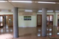 Interior de la Facultad de Medicina, de la Universidad de Salamanca