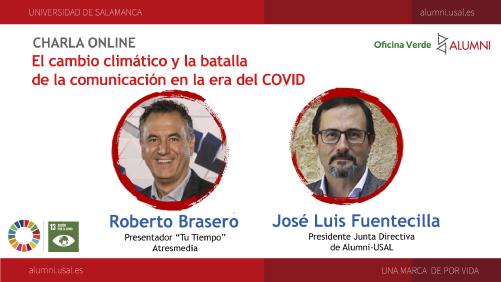 """Charla Online: """"El cambio climático y la batalla de la comunicación en la era del COVID"""""""
