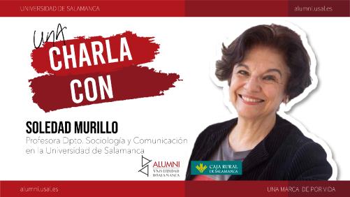Charla con Soledad Murillo