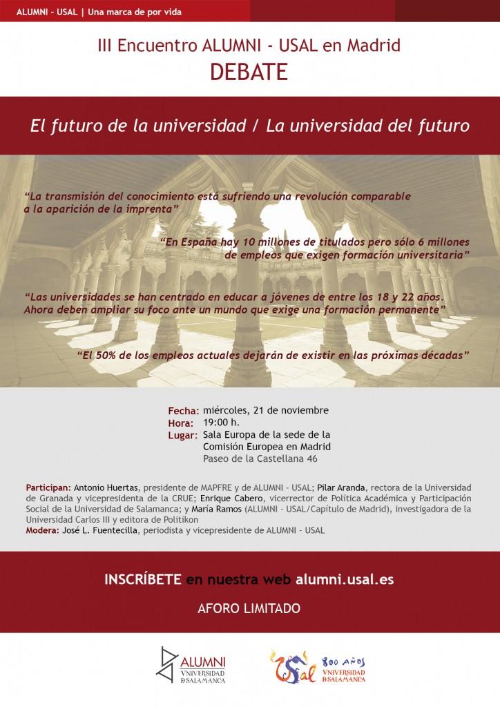 cartel-redes-iii-encuentro-alumni-usal-en-madrid
