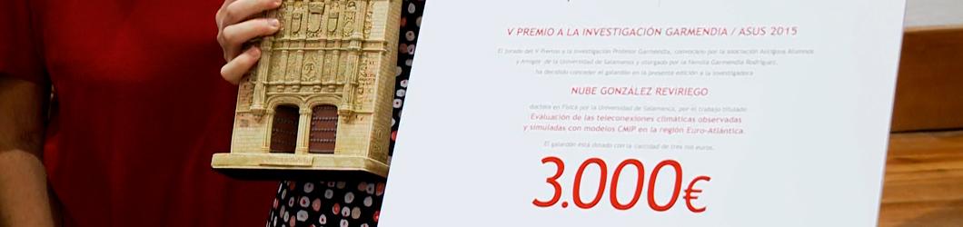 Premio Garmendia-Alumni Nube González