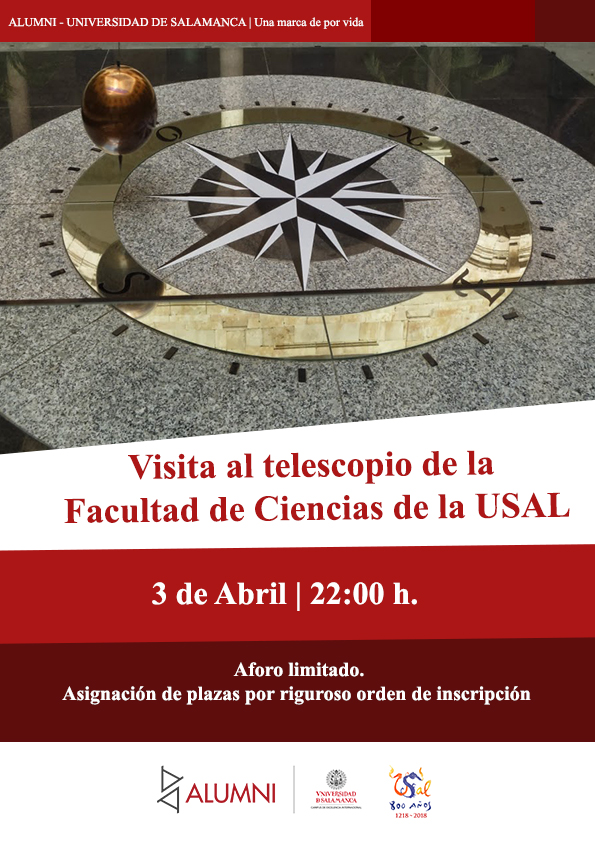 Visita el telescopio de la USAL
