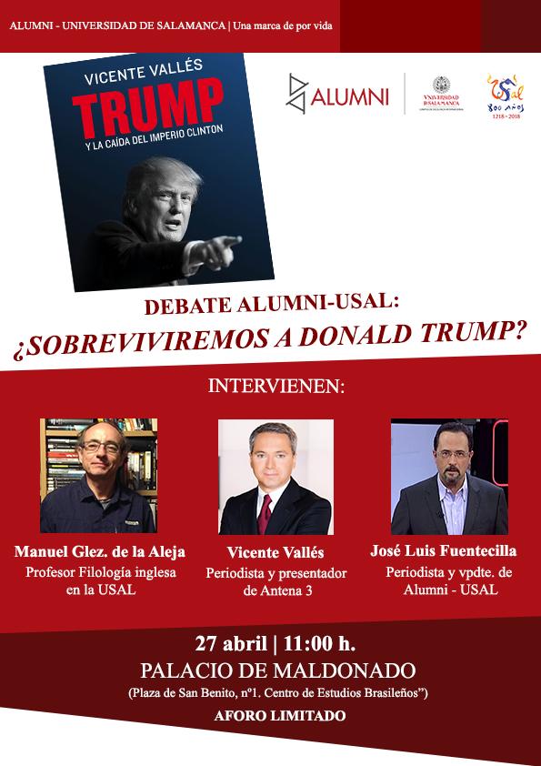Debate Alumni - USAL: ¿Sobreviviremos a Trump?