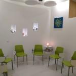 Sala de espera Yantra Wellness